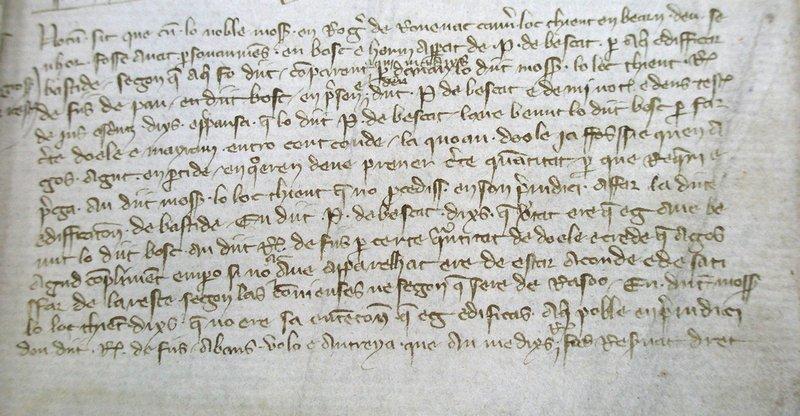 Charte de Rébénacq