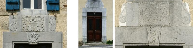 Cartouche au dessus de portes
